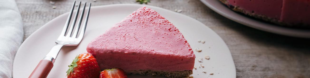 provamel rezepte desserts veganer erdbeer k sekuchen. Black Bedroom Furniture Sets. Home Design Ideas