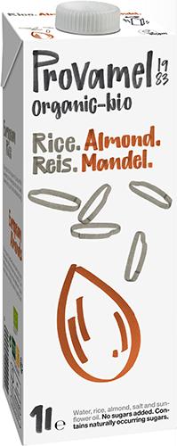 Bebida de arroz-almendras