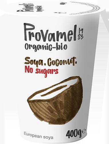 Soja-Kokosnoot <br/> Zonder Suikers
