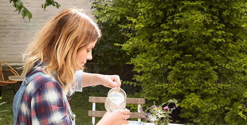 Pflanzliche<br/>Joghurtalternativen<br/>Mit Früchten &<br/>Vanille