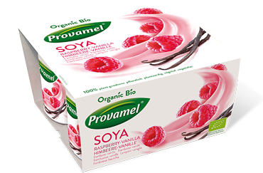SOYA WITH RASPBERRY AND VANILLA