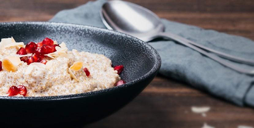 provamel rezepte fr hst ck quinoa porridge. Black Bedroom Furniture Sets. Home Design Ideas