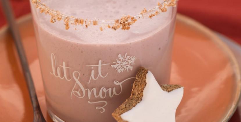 provamel rezepte smoothies winter weihnachts shake. Black Bedroom Furniture Sets. Home Design Ideas